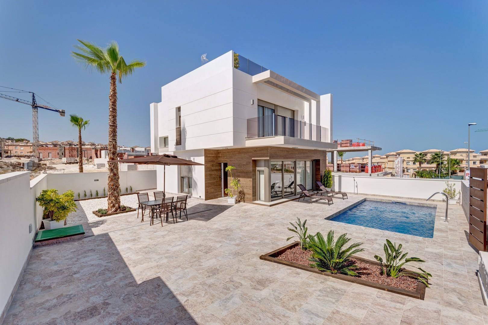 Moderne nieuwbouwvilla's met 3 slaapkamers!