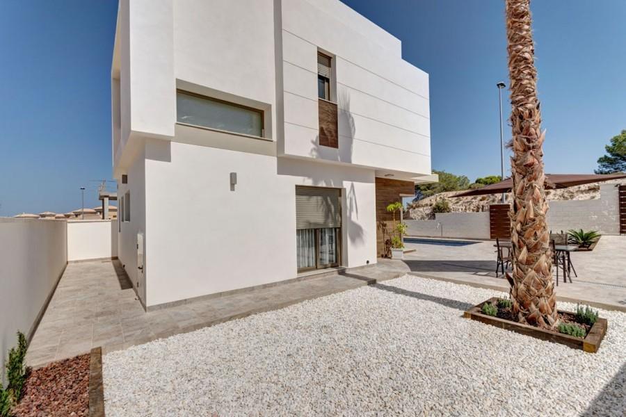 Moderne nieuwbouwvilla's met drie slaapkamers!