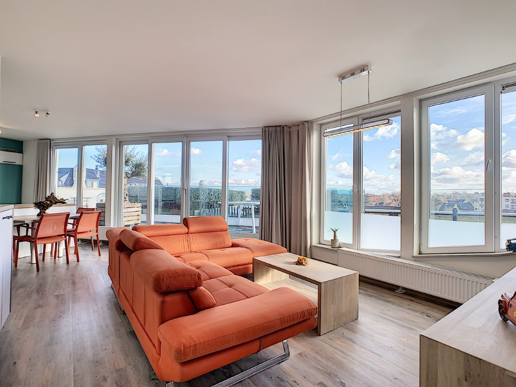 Recent appartement met prachtig zicht op het hinterland!