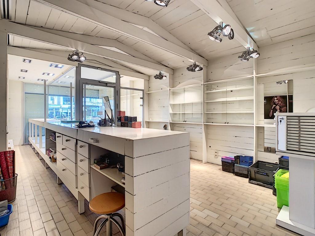 Winkelruimte met bijhorende studio!